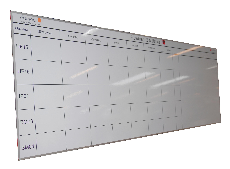 Fin Whiteboard tavler med dit design - Dekotryk Webshop NE-88